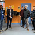 UHL donates IT equipment to Leicester homeless charity