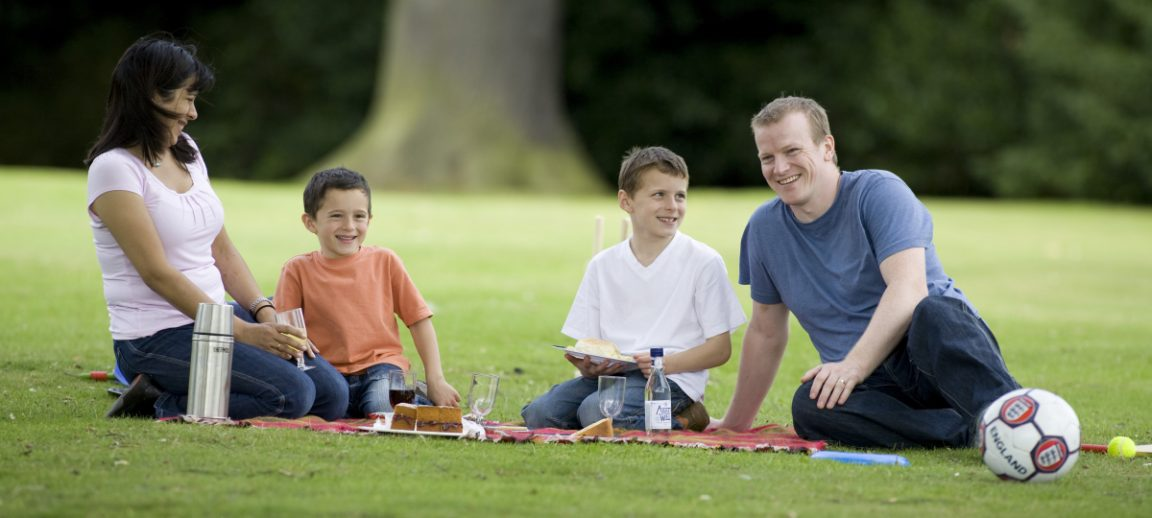 The National Trust cares for some of the best spots in the Midlands for eating al fresco and taking in beautiful views.
